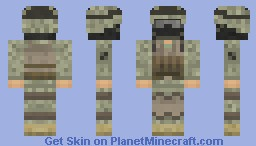 United States Army Ranger - Combat Ranger with Mask Minecraft