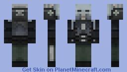 Half Life 2 Combine [3d mask] Minecraft Skin