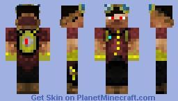 Pilot Maximus Steamdominater IV Minecraft Skin