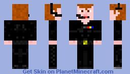 The Commander Minecraft Skin