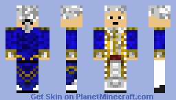 Commodore James Norrington Minecraft Skin