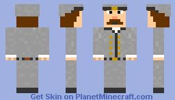 Confederate Solider Minecraft Skin