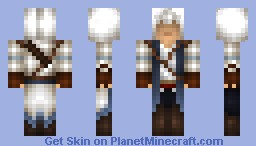 Connor Kenway - Assassins Creed III Minecraft Skin