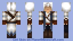 Connor Kenway - Assassins Creed III Minecraft Skin