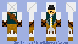 Connor (Assassins Creed III) Minecraft Skin