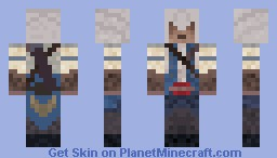 Assassins Creed 3: Connor Kenway Minecraft Skin