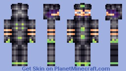 [Now with Varieties]Demeter- The crazy Bounty Hunter [Contest Entry] Minecraft Skin