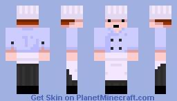 Cook Minecraft Skin