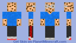 CookieCube Casual Minecraft Skin
