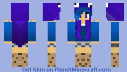 ☺ɳιɳʝαɱσɳƙҽყ☺ Cookie Monsta Girl Minecraft Skin