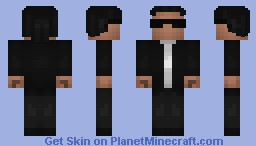 PSY (From his new song - Gentleman) Minecraft Skin