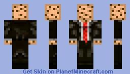 CookieCube- Suit Minecraft Skin