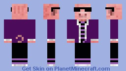 The Cool PIG! Minecraft Skin