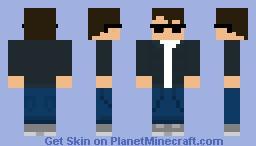 Cool guy skin Minecraft