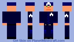 Minecraft Policeman MCPD (Minecraft Police Department) Minecraft Skin