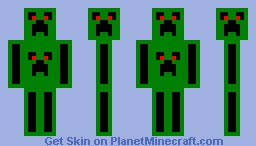 creepers EVERY WHERE Minecraft Skin