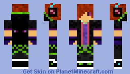 CorruptedEnderTeen (For Pros) Minecraft Skin