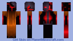 Corrupted Witherbot Of Azkarta [Added Neon Version+Diamond Version+No-Cape Version] Minecraft Skin