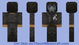 Corvo From Dishonored Minecraft Skin