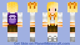 Young School Girl [Younger Sister] Minecraft Skin