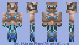 Darksiders II Golem... Thing... [Request] Minecraft Skin