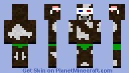 Cow with 3D Glasses and Speedo (Made for Turbofigher) Minecraft Skin