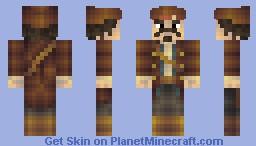 Cpt. Jack Sparrow Minecraft Skin