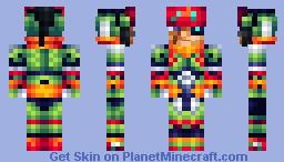 Craft - [Megaman Zero 4] Minecraft Skin