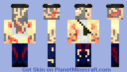 Crafting dead zombie for f3ullo minecraft skin for Minecraft crafting dead servers