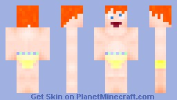 Crazy, half-naked Ginger... Minecraft