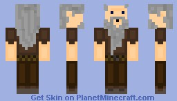 Crazy Old Peasant(3D Beard!) Minecraft