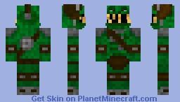 Crazy Troll (Mr. Troll) Minecraft Skin