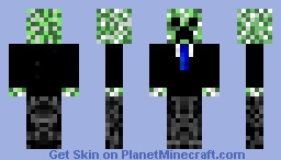 Creeper in a suit (for jackoz)