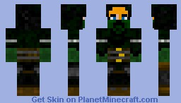 Assassin Of Creepers Minecraft Skin