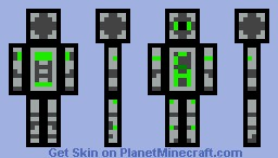 CreeperAttackz Minecraft Skin