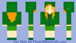 Creeper Girl Minecraft Skin