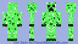 Man creeper Minecraft Skin