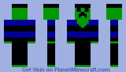 Creeper Minecraft Skin