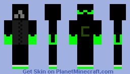 Creeper Ninja Minecraft Skin