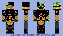 Creeper enderman with spacesuit Minecraft Skin