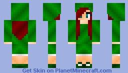 Creeper girl #2 Minecraft Skin