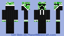 Creeper spy Minecraft Skin