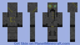 Creeper Protection Suit (CPS) Minecraft Skin