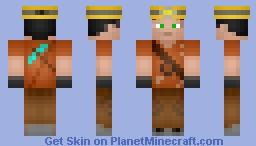 Obsidian Miner Minecraft Skin