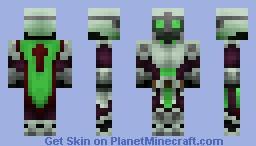 The Cursed knight of almire [HD version in description!] Minecraft Skin