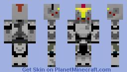Mandalorian Minecraft Skin