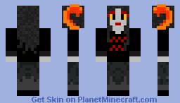 Custom Homestuck Troll Minecraft Skin