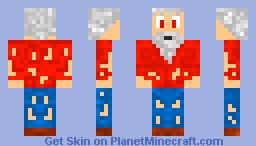 ✿Terraria✿  Cut Old-Man Minecraft Skin