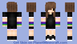 Cute Emo Girl? [70th skin!! .3. ] Minecraft Skin