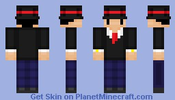 Jimmy The Cute TopHat Man Skin